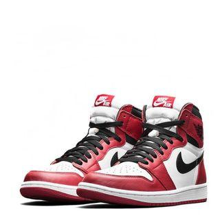 【美國代購】NIKE AIR JORDAN 1 RETRO HIGH OG 紅白色 555088-101 男女款