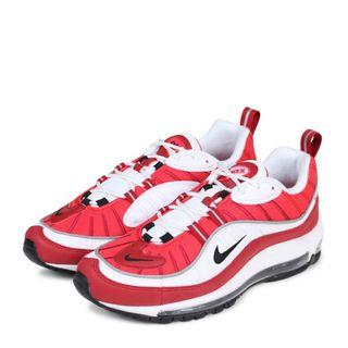 【美國代購】Nike Air Max 98 GYM RED 紅白 AH6799-101  女款