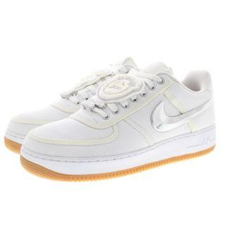 【美國代購】Nike Air Force 1 Low Travis Scott 白色 AQ4211 男女款