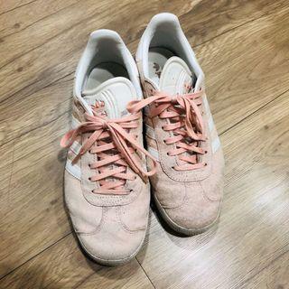 愛迪達 adidas GAZELLE 麂皮粉色