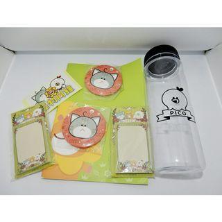 福袋 !!! 文具組 + 水壺 + 鏡子