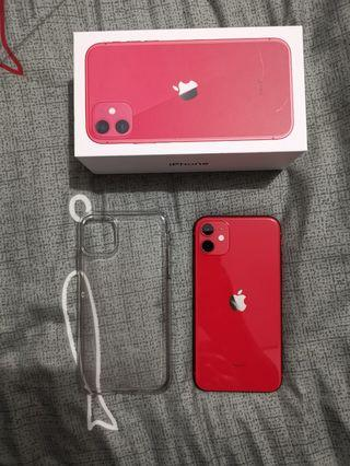 Iphone 11 red 64gn