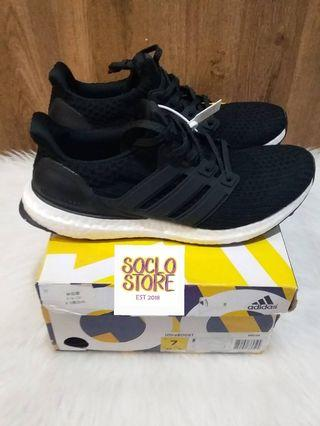 SEPATU ADIDAS ULTRABOOST 4.0 BLACK WHITE BW PK VERISON 100% Perfect Kicks BNIB