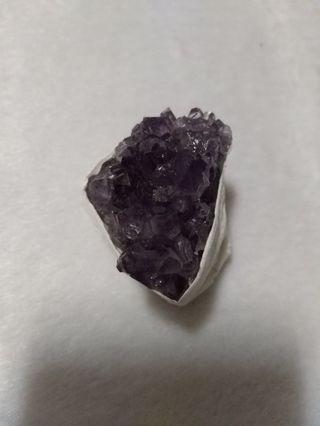 天然 烏拉圭 紫水晶 晶花 晶片 擺飾 擺件(05)