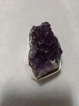 天然 烏拉圭 紫水晶 晶花 晶片 擺飾 擺件(06)
