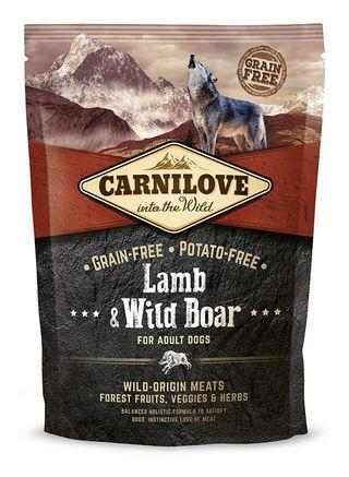 Carnilove  Lamb & Wild Boar for Adult Dogs (1.5kg)