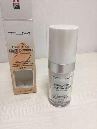 Changing color foundation