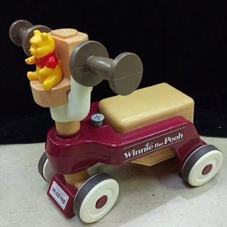 (限自取) TAKARA TOMY 小熊維尼 幼兒車 玩具  學步車 【日式二手店 大和堂】