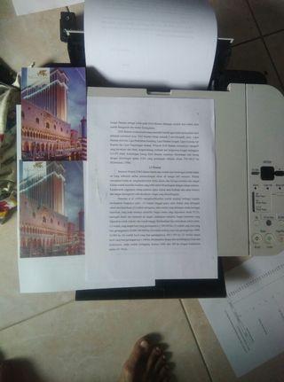Printer canon mp258 siap pake