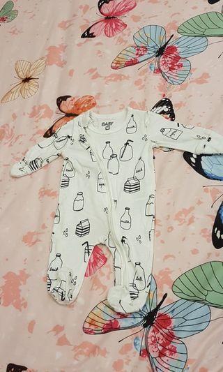 White Sleepsuit