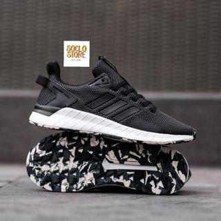 ADIDAS QUESTAR RIDE BLACK SOLE CAMO ORIGINAL