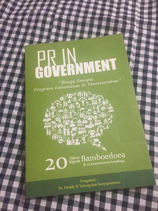 Public Relations in Government