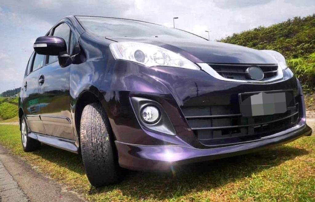 2012 Perodua Alza 1.5 EZI (A) B/L LOAN KEDAI DP 3K
