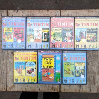 DVD Tintin Series