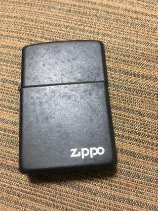 Zinpo打火機 消光黑