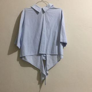 Blue Blouse / Atasan Biru / Blue Top