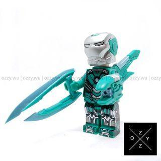 Lego Compatible Marvel Minifigures : Iron Man (MK 31)