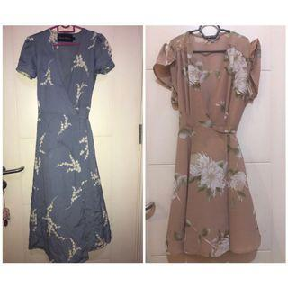 Floral dress‼️‼️PROMO RM80 include postage