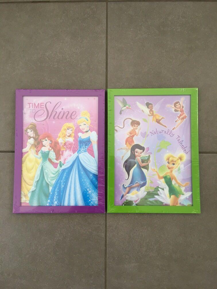 2x Disney Fairies Photo Frame