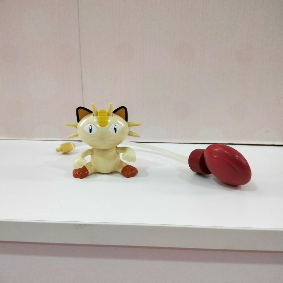 二手正版懷舊神奇寶貝/寶可夢/口袋怪獸/喵喵貓咪/麥當勞玩具/愛瑞獅的藏寶箱