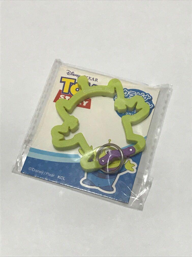 日本 迪士尼 三眼怪  鑰匙圈
