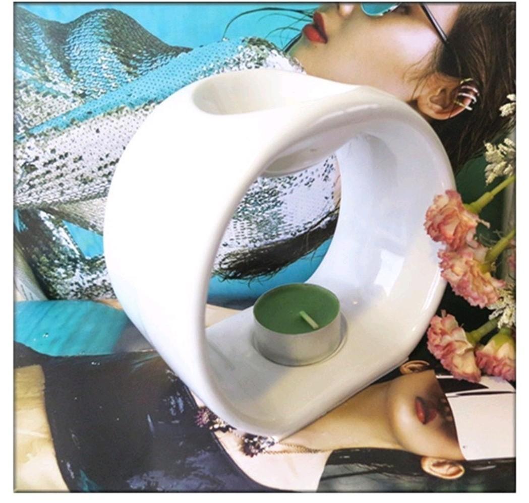 陶瓷 陶瓷精油燈 蠋台 蠟蠋臺 蠟蠋盤 精油燈 燭台 出清 只售599元
