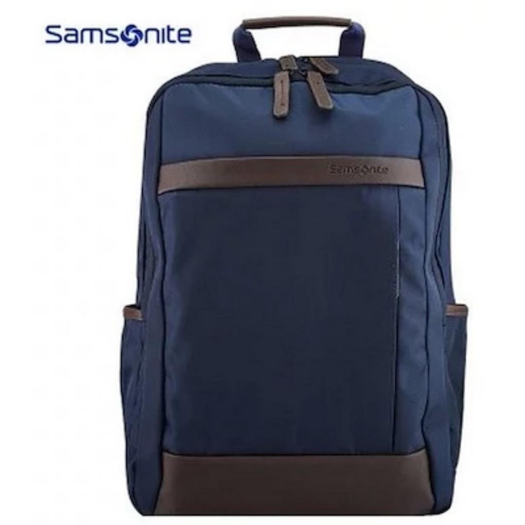 美國 Samsonite X Lenovo 聯想 深藍色牛津布 手提電腦 背囊