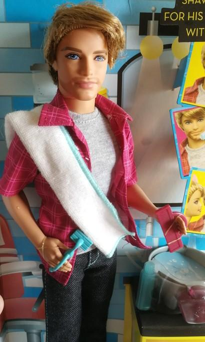 🆕 Shaving Fun Ken Doll