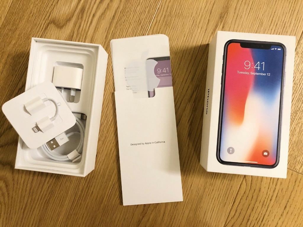 Apple iPhone X - 256GB - Space Grey (Unlocked)