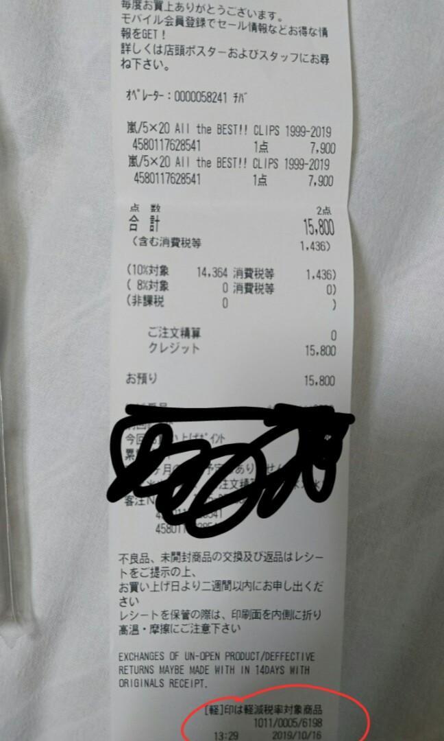 嵐Arashi All the Best!! CLIPS 1999-2019