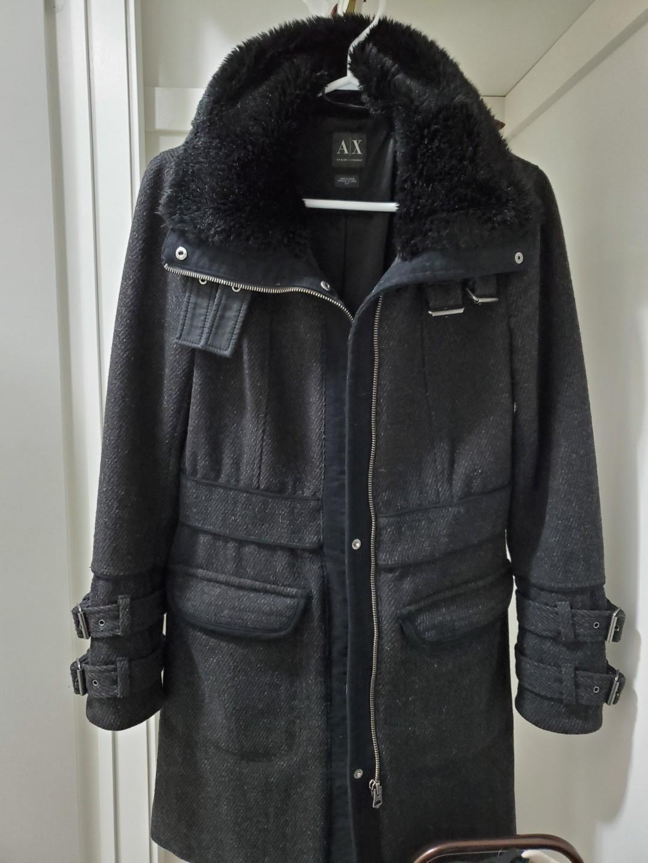 Armani exchange wool coat