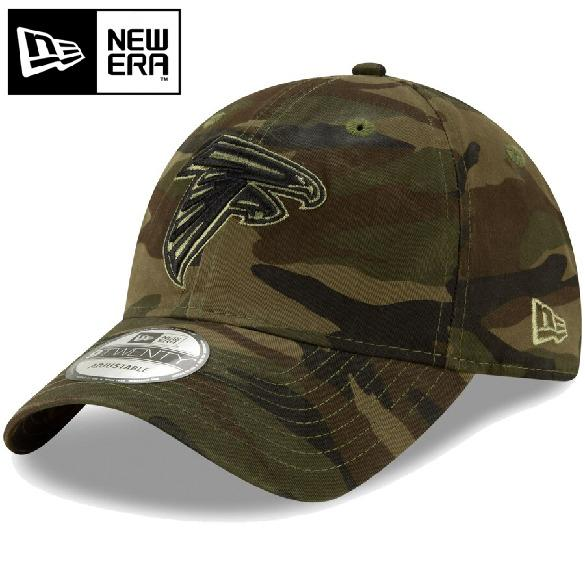 Atlanta Falcons New Era Core Camo Tonal 9TWENTY Adjustable Cap