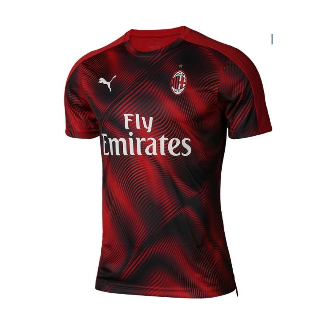 Brand New authentic AC Milan 2019/20 Puma T-shirt T Shirt