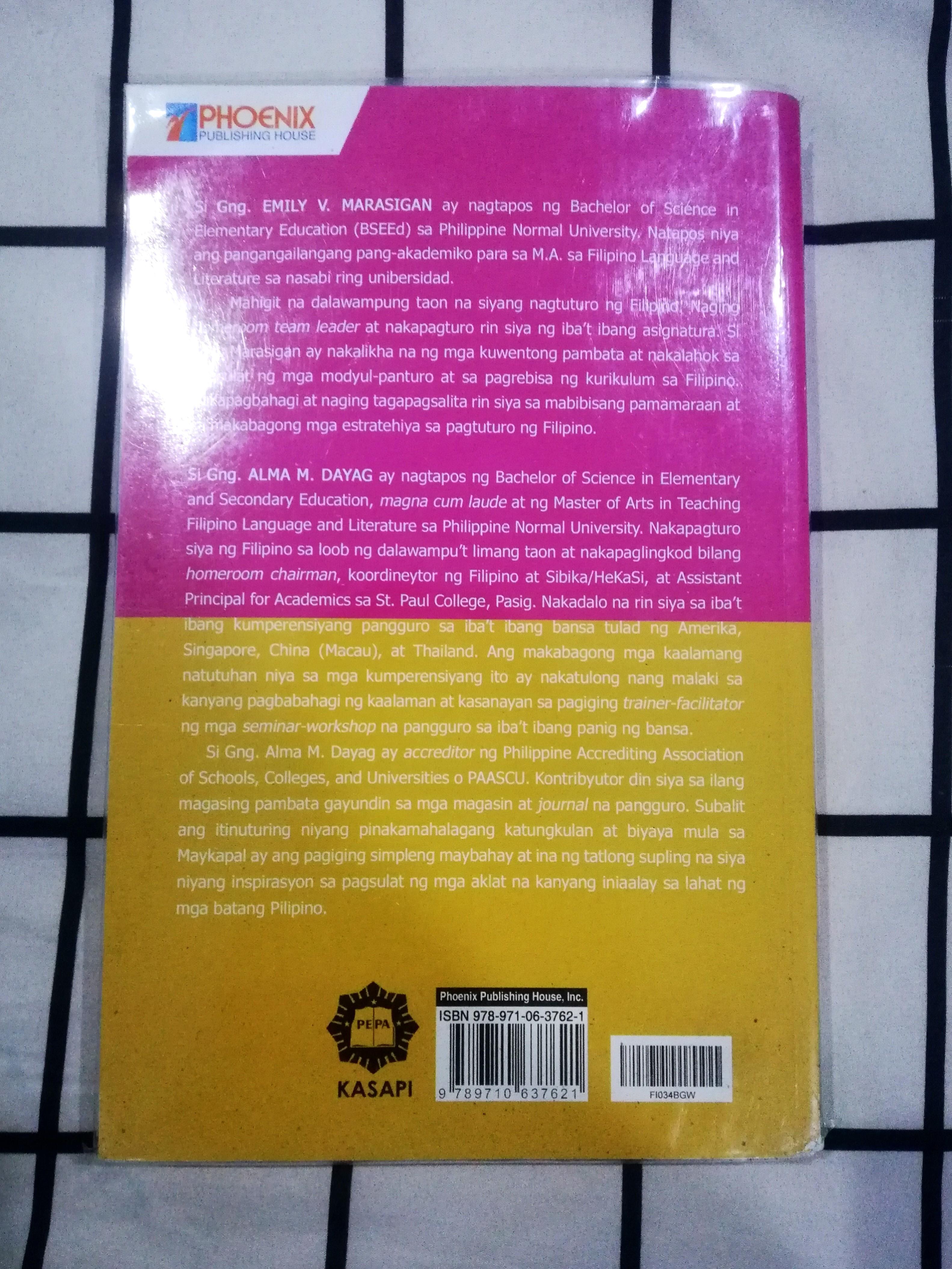 (Brand New!!) Phoenix Pinagyamang Pluma 10 - Aklat 2 / Kabuuan ng El Filibusterismo