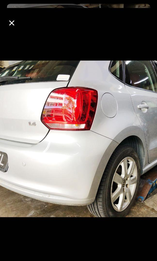 Car Rental Rent Car Vokswagen Polo