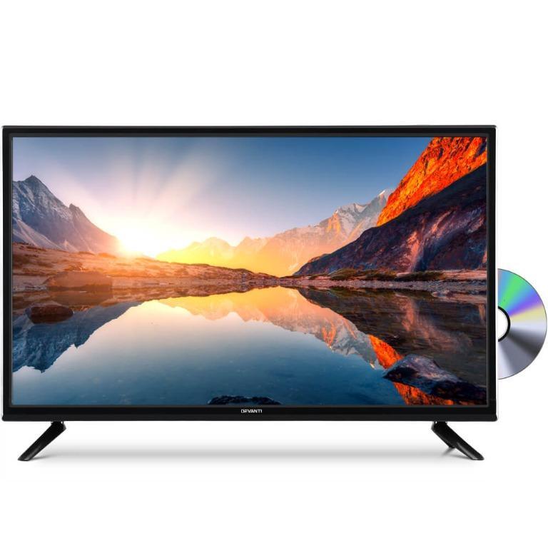 Devanti 24″ Inch LED TV Combo Built-In DVD Player DC 12V Caravan Boat USB