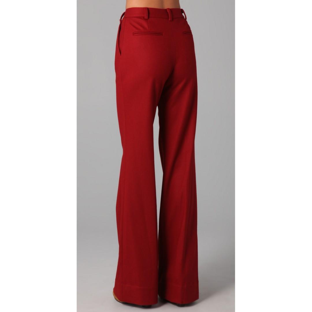 Diane Von Furstenberg Highwaisted Wide leg pants