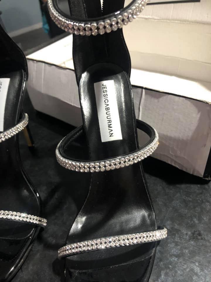 Dimond stiletto heels