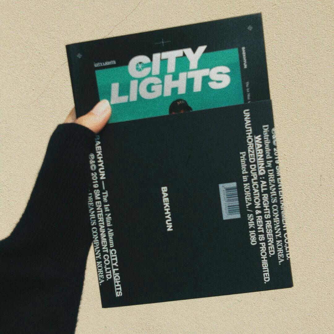 [SEALED] EXO Baekhyun City Lights Album (Night Version)