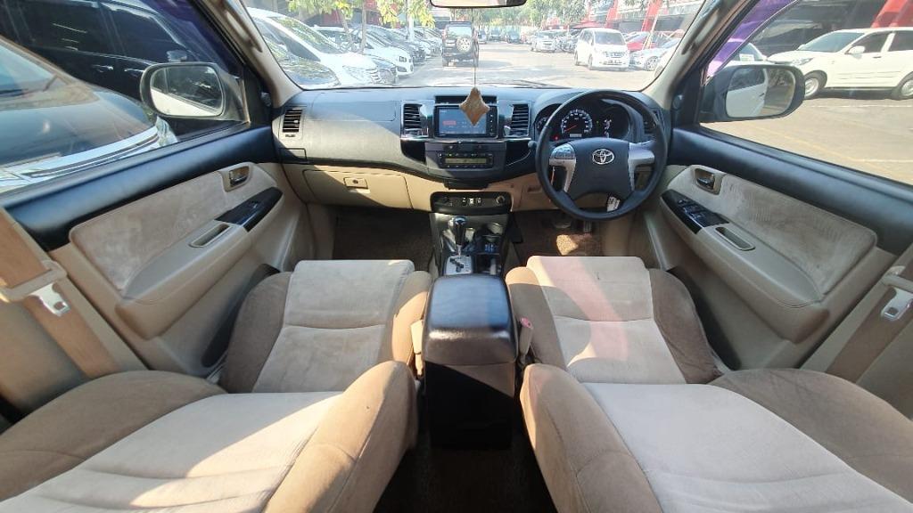 Fortuner Diesel G AT 4WD (4x4) 2014 Putih Dp 63,9 Jt No Pol Ganjil