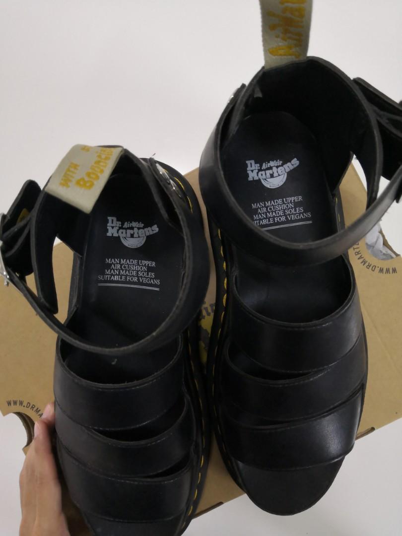 Gladiator Sandal Clarissa II Platform by Dr Martens