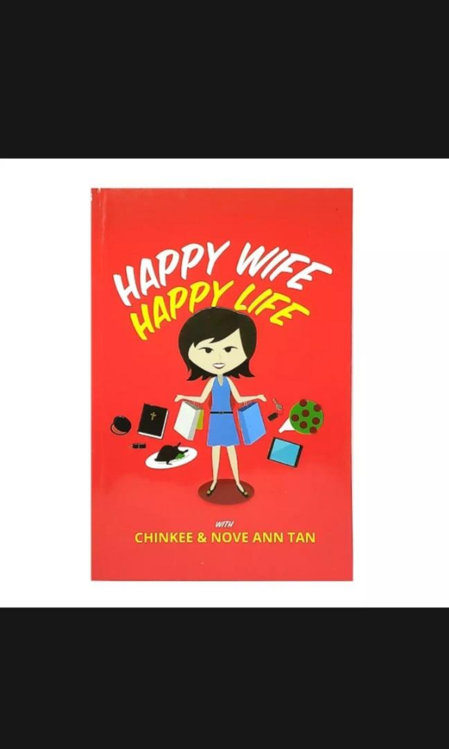 HAPPY WIFE HAPPY LIFE AND TIL DEBT DO US PART 2019 BOOKS BY CHINKEE TAN BUNDLE OF 2 BOOKS! | BRANDNEW🤗