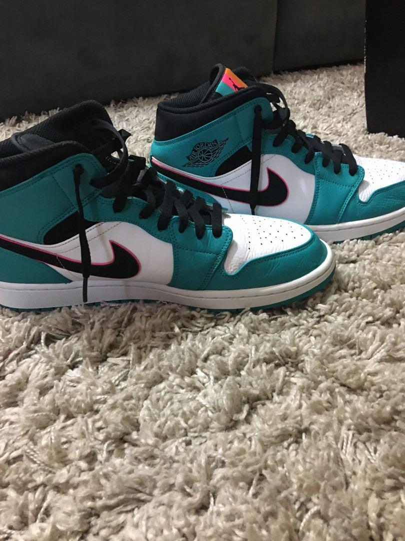 Jordan Turbo Green and Black Colourway
