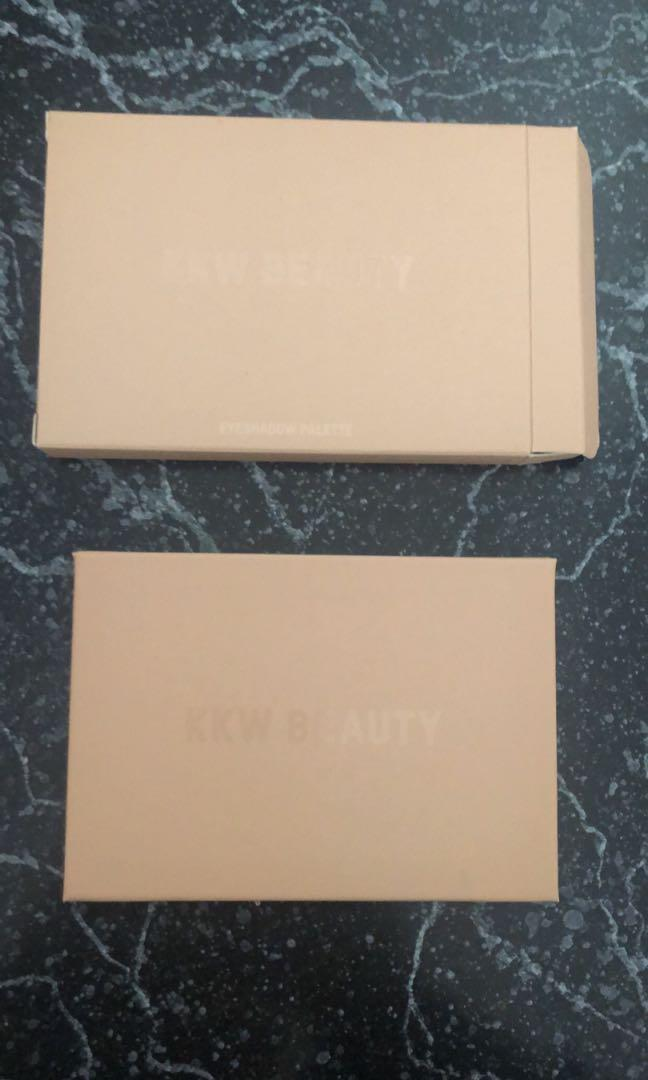 BRAND NEW & UNUSED:  KKW - Smokey Volume 1 Palette