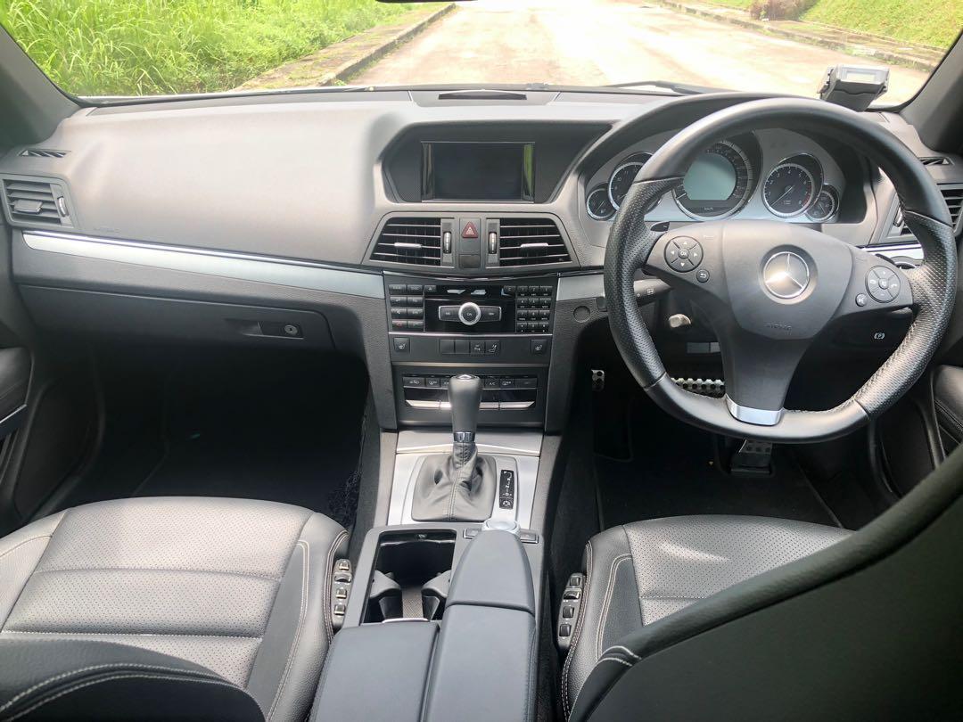 Mercedes-Benz E-Class E250 (New 10-yr COE) CGI Cabriolet Auto
