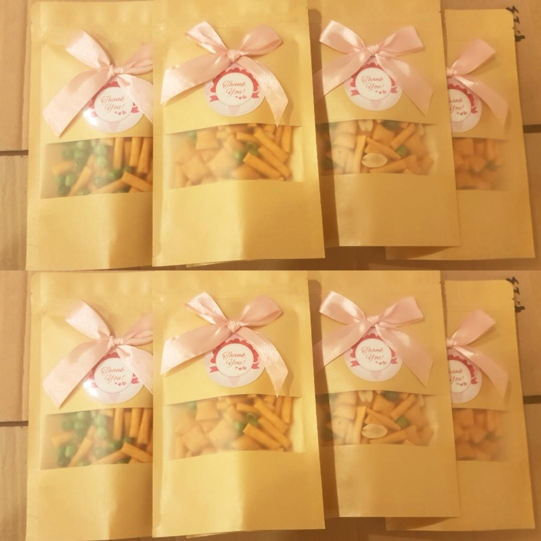 50g personalised  mixed nuts