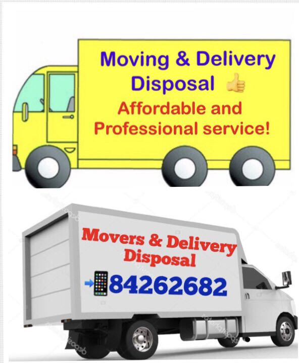 Movers / Delivery and Disposal 👍