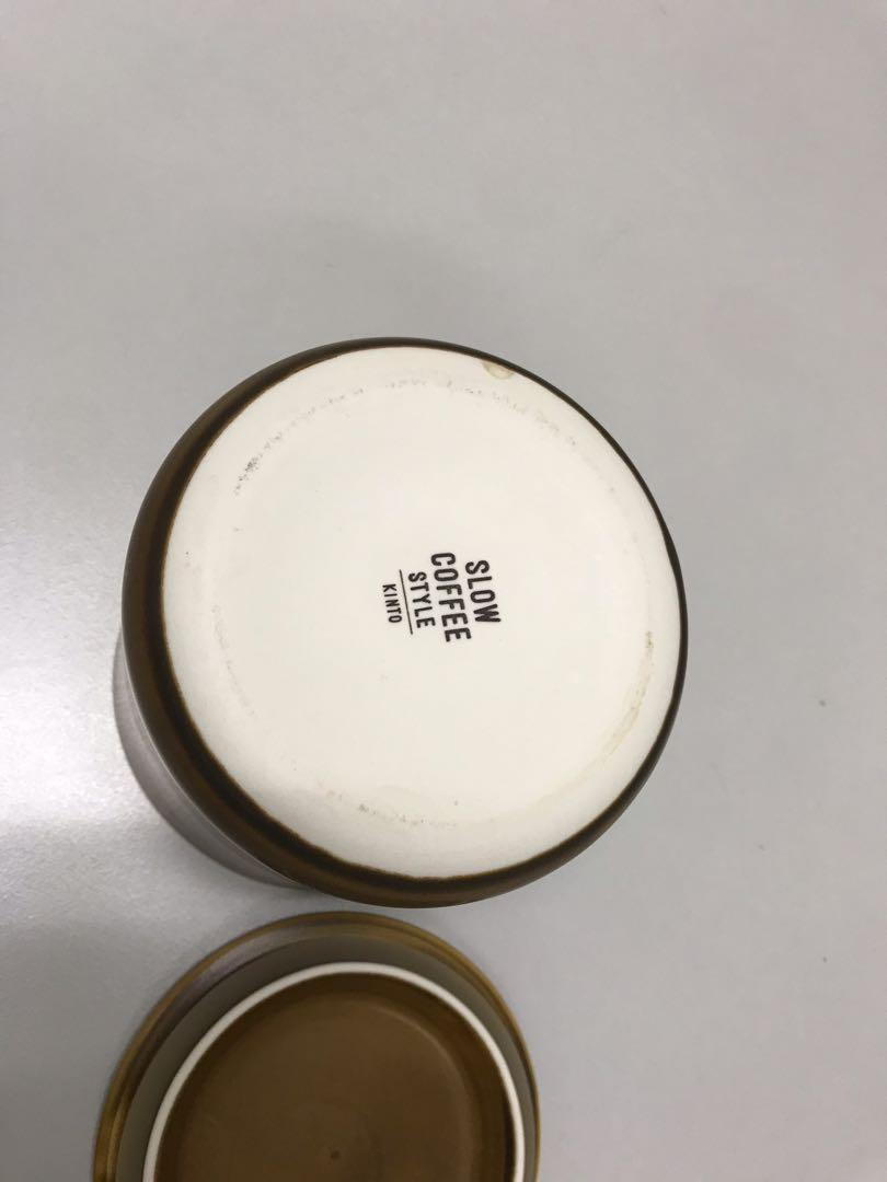 New Ceramic Coffee Tea Container Made in Japan 日本咖啡