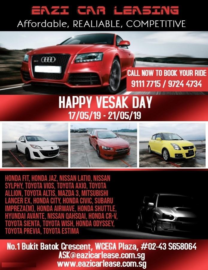 null Cheapest Vesak Day Car Rental