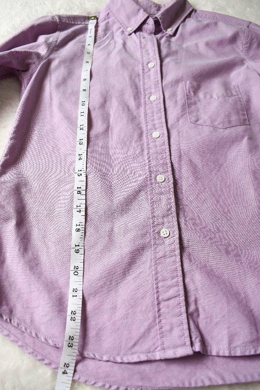 Pre-Loved Uniqlo Women's Long Sleeve Blouse Size XS